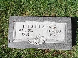 Priscilla Lowe Farr (1901-1979) - Find A Grave Memorial