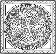 Small Picture Celtic Border Patterns Free Celtic Cross Coloring Pages Catholic