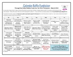 Calendar Raffle Template Calendar Raffle Template Free Calendar Collection