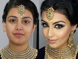 indian bollywood south asian bridal makeup start to finish baby it s our world