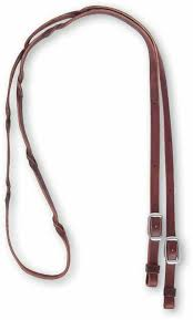 details about martin saddlery barrel reins with blood twist