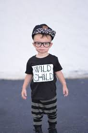 cute toddler shirts, wild child shirt, kids clothes, stylish baby clothes,  baby