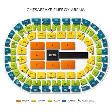 Wwe Monday Night Raw Mon Jan 6 2020 Chesapeake Energy Arena