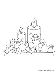 Small Picture Candle ornaments coloring pages Hellokidscom