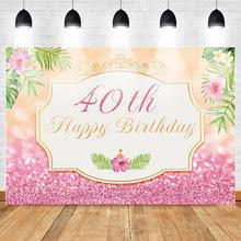 <b>40th birthday</b> banner