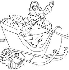 Small Picture Happy Santa Coloring Pages For Kids Printable Free Christmas