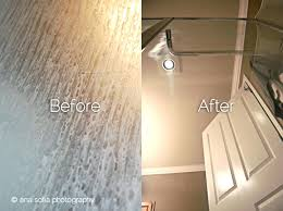 clean glass shower doors simple design how to clean shower doors exciting your door tracks throughout