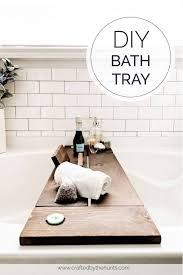 bath tray in 8 simple steps