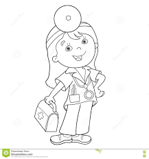 first aid coloring pages.  Pages Coloring Page Outline Of Cartoon Doctor With First Aid Kit Throughout First Aid Pages