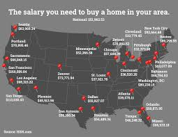 the salary you must earn to buy a home in metros salary you need to earn in order to afford home in 27 metro areas