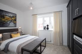Show Home Bedroom Bower Brook Gardens Showhome Launch Success Russell Homes
