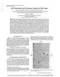 John G Hall Chart Pdf Ccd Photometry And Preliminary Analysis Of V865 Cygni