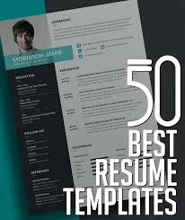 Best Resumes 2017 Best Resume Templates With Cover Letter Resume
