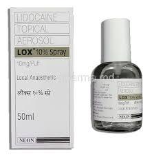 Lidocaine prilocaine spray india