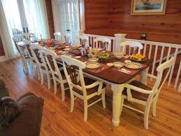 cute dining table seats rustic dining table seats 10 amazing dining room tables