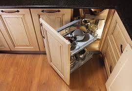 Corner Kitchen Cabinet Solutions Corner Kitchen Cabinet Storage Solutions Maple Upper Corner