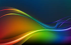 photo wallpaper green red yellow blue wave energy