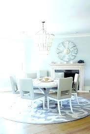 round table rug square etudoco area rugs for dining room best size area rug for dining room
