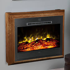 Carlisle Infrared Electric Fireplace Heater In Mahogany Fireless Fireplace