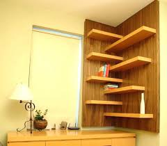 bookcases house shaped bookcase l shaped shelves view in gallery elegant floating walnut shelves perfect