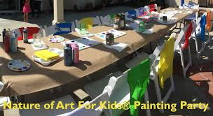 art parties for kids birth day san go paint