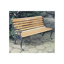 iron bench make residents and