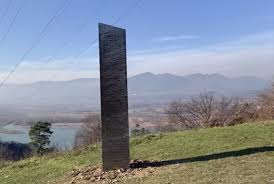 Mysterious monolith found in Romania ...