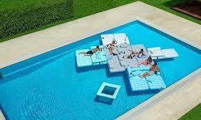 inflatable pool furniture. Floating Oasis Inflatable Pool Furniture Couture Outdoor