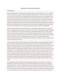 sample essay on cloud computing