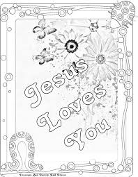 Small Picture Coloring Page Jesus Loves The Children Coloring Home