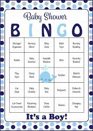 BABY SHOWER BINGO Game Cards  Printable Baby Shower Bingo Cards Baby Shower Bingo Cards Printable