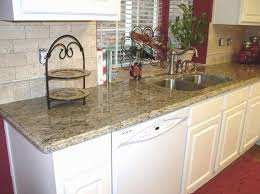 Santa Cecilia Granite Kitchen Tumbled Marble Backsplash Kitchen Pinterest Photos Granite