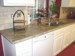 Santa Cecilia Light Granite Kitchen Tumbled Marble Backsplash Kitchen Pinterest Photos Granite