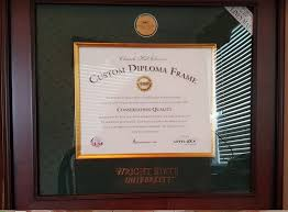 graduation diploma you earned it now frame it  i