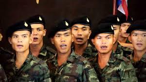 เพลงธงชาติไทย ขับร้องโดยเหล่าทหารเกณฑ์รุ่นใหม่ มณฑลทหารบกที่๓๑ - YouTube