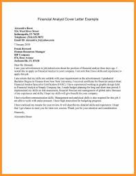 System Analyst Cover Letter 10 Business Analyst Cover Letter Examples Cover Letter