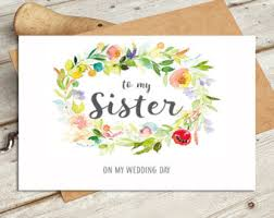to my groom on our wedding card watercolour design card is Wedding Cards Messages For Sister to my sister on my wedding day wedding card watercolour design card is blank inside wedding cards messages for sister