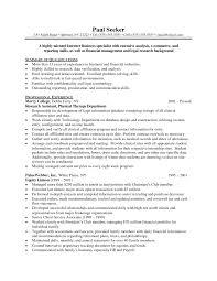 Speech Pathology Resume Objective Statement Bongdaao Com For