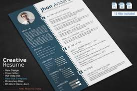 Resume Cv Template Updated In Psd Doc Docx Pdf Free Psd
