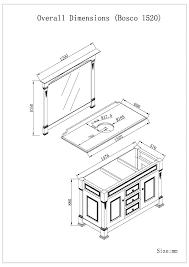 Bathroom Vanity Sizes Chart Standard Size Base Cabinet