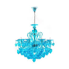 furniture glass ceiling chandelier pertaining to blue glass chandelier renovation from blue glass chandelier with