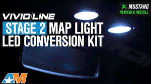 2015 Mustang Map Light Replacement 2015 2018 Mustang Vividline Stage 2 Map Light Led Conversion Kit Review Install