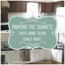 Chalk Paint Kitchen Painting The Cabinetsjpg