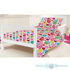 Childrens Junior Cotbed Bed Duvet Cover Pillowcase Nursery Ba For ... & Childrens Junior Cotbed Bed Duvet Cover Pillowcase Nursery Ba For Brilliant  Residence Toddler Duvet Cover Decor ... Adamdwight.com