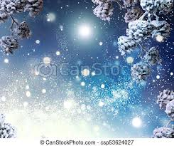 Winter Holiday Snow Background Snowflakes