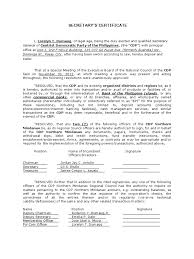 Board Resolution Or Corporate Secretary S Certificate With