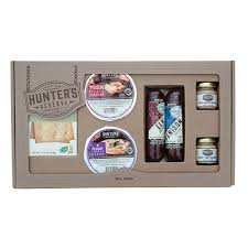 wild game summer sausage cheese gift box