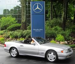 1998 Mercedes SL500 at the 2013 Mercedes June Jamboree car show ...