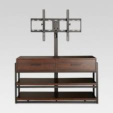 White And Wood Tv Stand M52