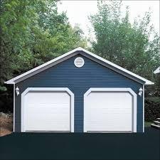 9 x 7 ice white dualforce garage door